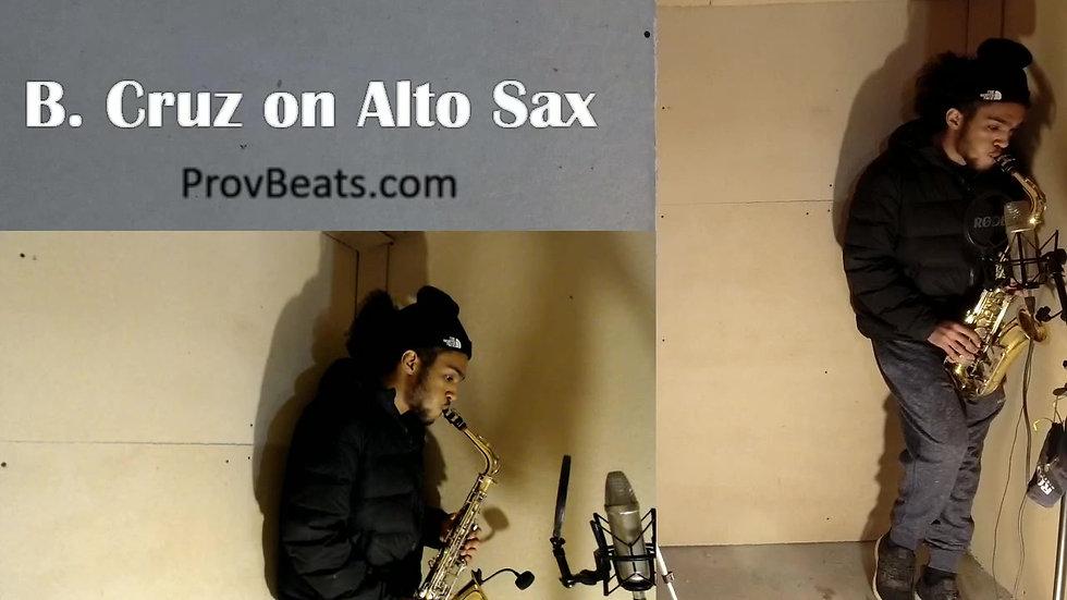 Alto Sax Solo by B.Cruz