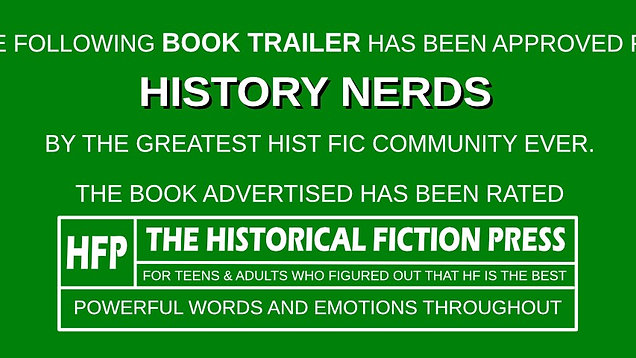 Historical Fiction Book Trailers