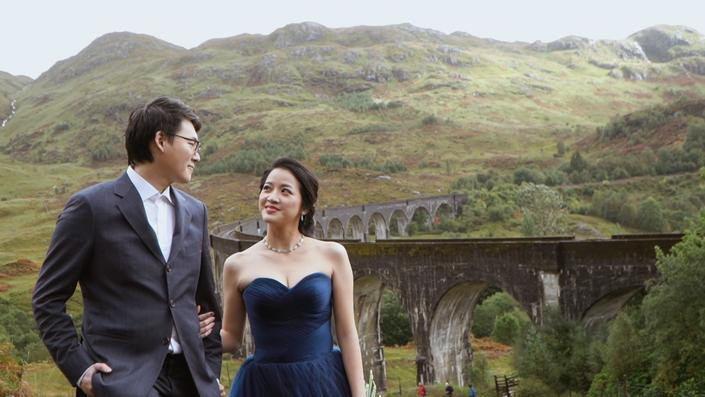 Scotland Pre-wedding short film 蘇格蘭婚紗側錄-Winona+Fabien