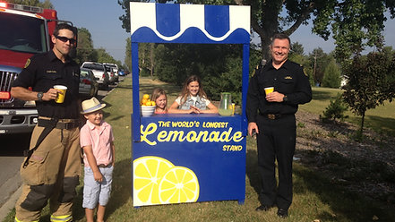 Dare to Care's Lemonade Stands