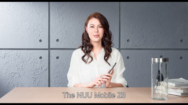 Nuu mobile | Z8 smartphone unbox video