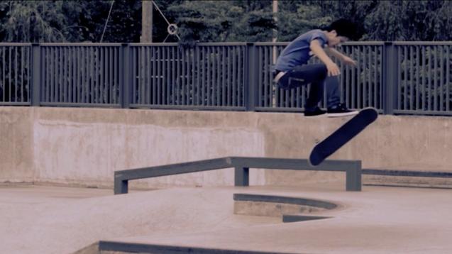 DC Shoes Skateboard | Lung Chai 360 Flip