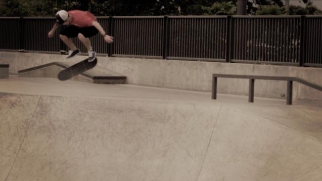 DC Shoes Skateboard | LeeHawk Back Flip