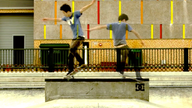 DC Shoes Skateboard | Lung Chai Grind