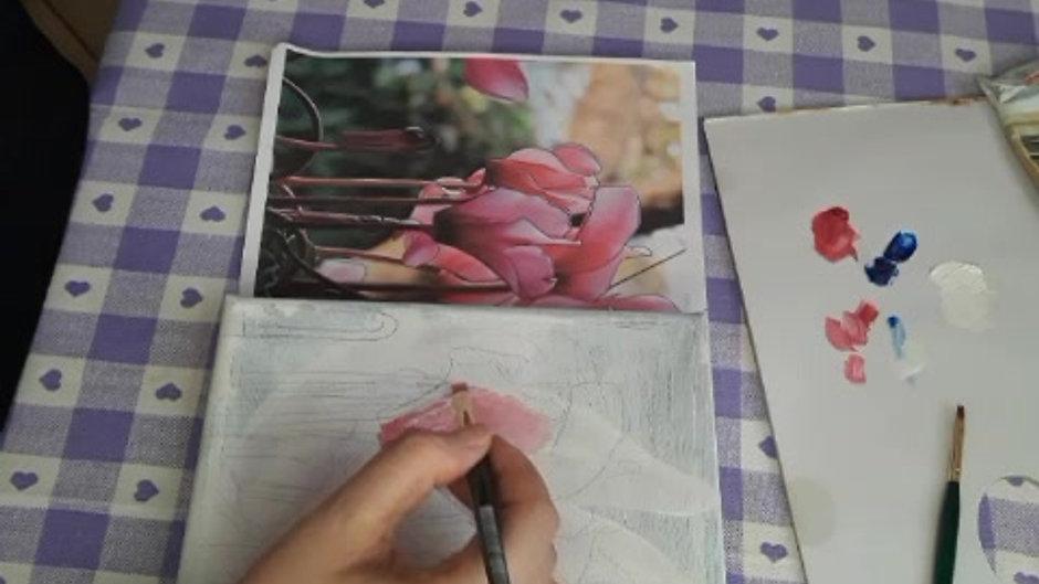 Secondo Lab sulla pittura ad olio