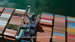 Port of Long Beach - Hyundai Arrival at Hanjin