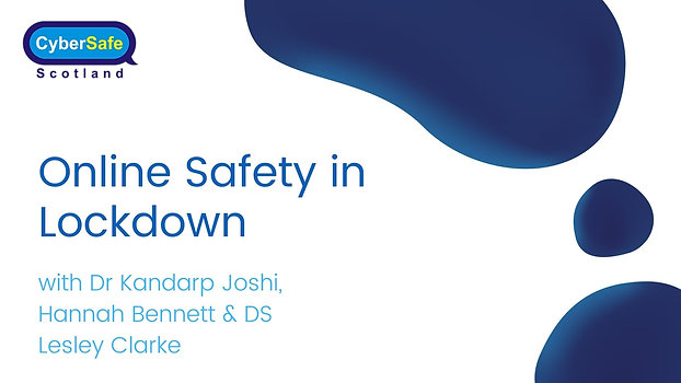 Online Safety in Lockdown