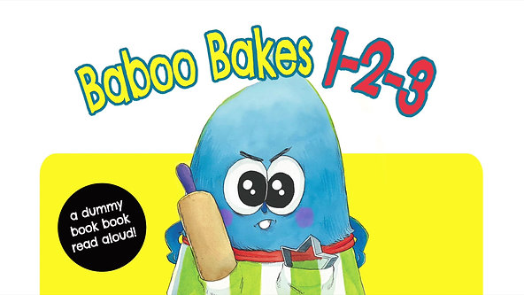 Baboo Bakes: dummy book Read Along!