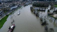 Drone innondation charente_4K
