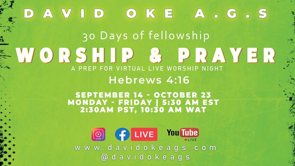 Worship & Prayer - The king of saints (Day 2)