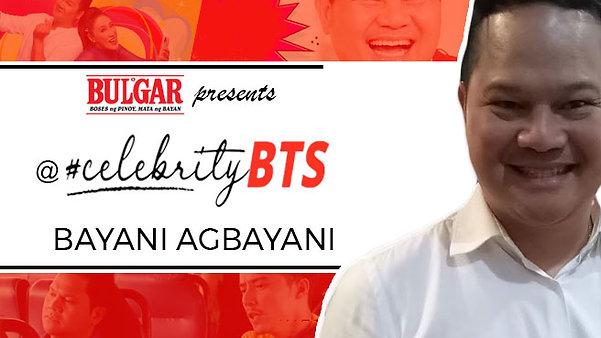 Interview kulitan with Bayani Agbayani.