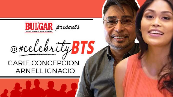 @Celebrity BTS talk with Garie Concepcion & Arnel Ignacio