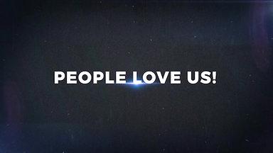 PEOPLE LOVE IS