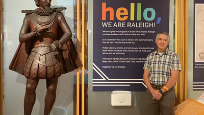 Hello from the Raleigh Historic Resources and Museums