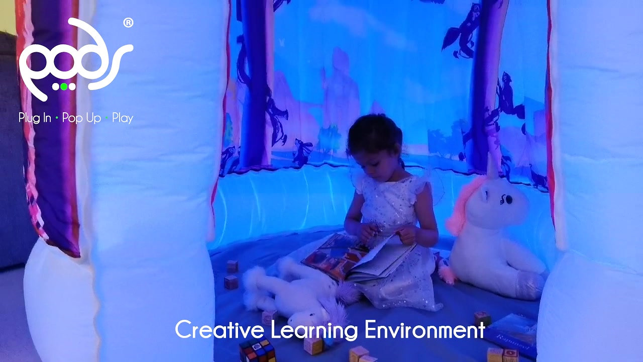 Imaginative Play Spaces - PODS Sensory Tents