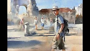 Tourist In Lisbon