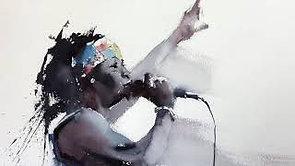 #34 African Rhythm (Watercolor Portrait Tutorial)