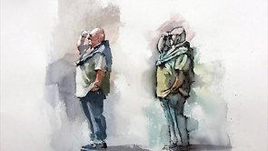 Figure in Two Styles