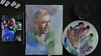 Portrait In Two Steps