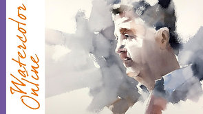 #105 Breaking Bad, or Starting with Shadows (Watercolor Portrait Tutorial)