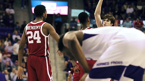 OU Basketball TCU Comeback