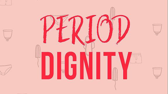 Period Dignity Campaign announcement