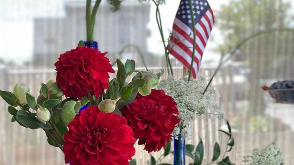 Fourth of July arrangements