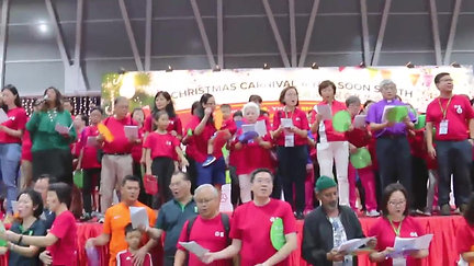 Mass Carolling @ Nee Soon South Actual Event (16 Dec 2017)