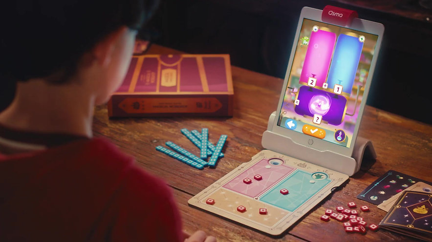 Voiceover for OSMO Math Wizard / National/ Television and Web