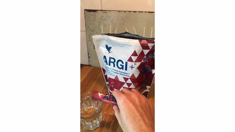 ARGI+®  nach dem Laufen