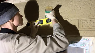 Обучение(фрагменты). Отделка стен и полов из декоративного бетона. (1)