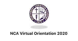NCA Virtual Orientation