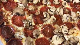 Black Magic Pepperoni Pizza