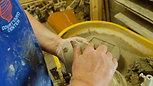 Putting handle on jug