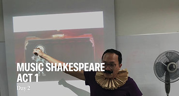 Music Shakespeare Act 1