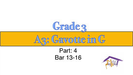 Grade 3, Gavotte (4)