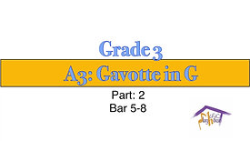 Grade 3, Gavotte (2)