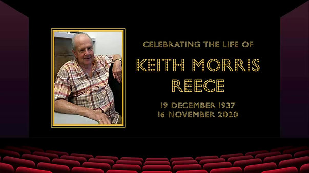 Keith Reece Funeral