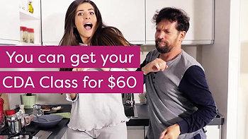 CDA Classes Online $60