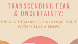 Almost 30 x Millana Snow Energy Talk + Healing