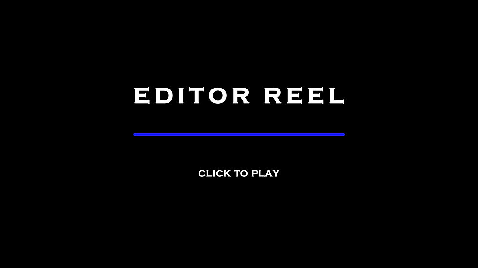 David Bertman Editor Reel