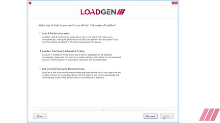LoadGen Configurator - Getting Started First Steps