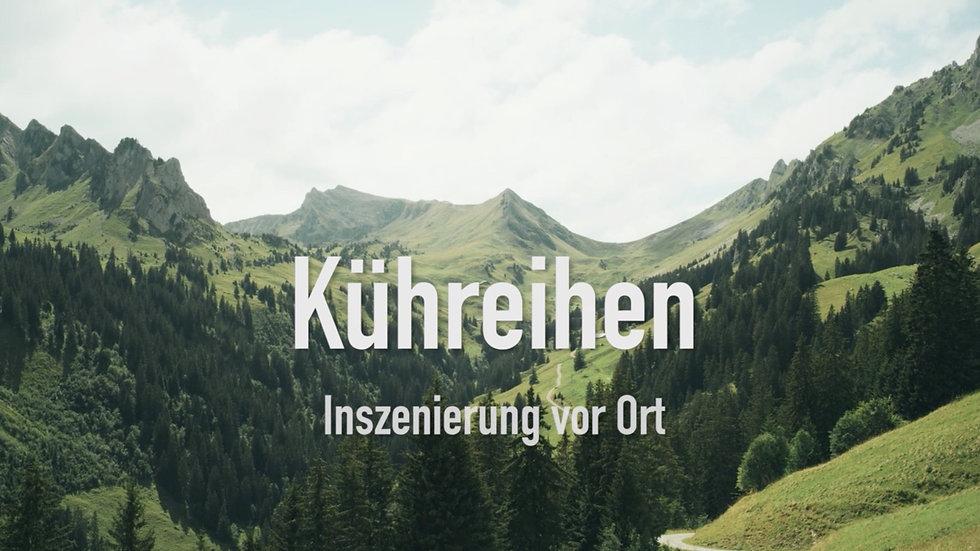 Kühreihen Trailer mit UT