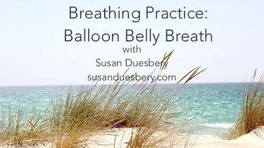 Balloon Belly Breath