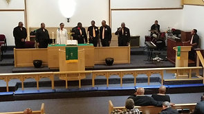 "10/14/2018 Brothers In Harmony featuring Rev. Willie Clemmons sing ""Through the Storm"""