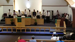 "8/12/2018 Brothers In Harmony sing ""Still Here"""