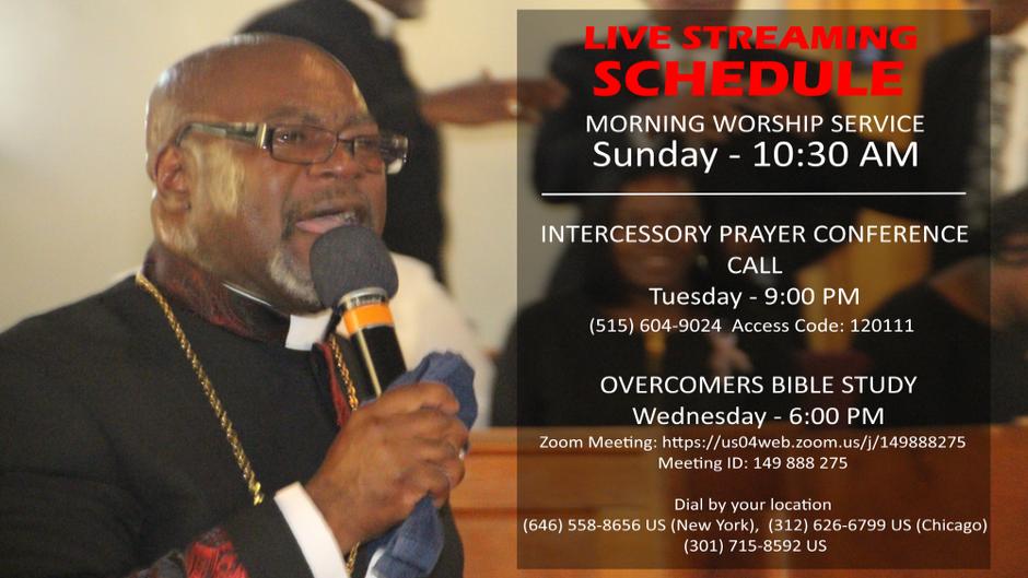 Sunday Worship - Live Streams