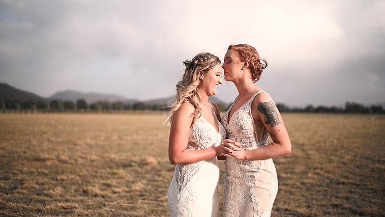 Hilary and Amy - Mudgee Wedding