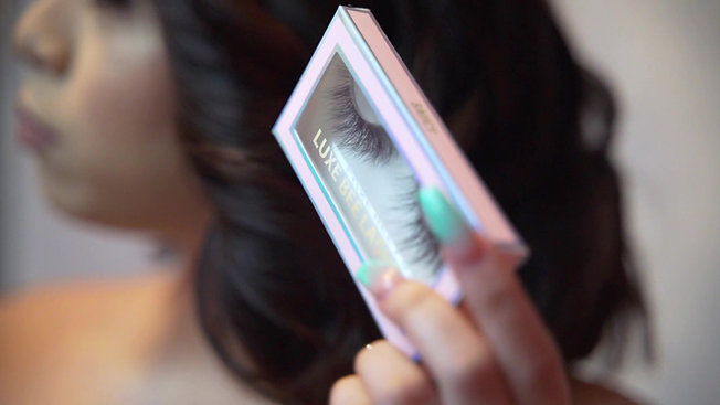 Luxebee BTS Lashes Launch