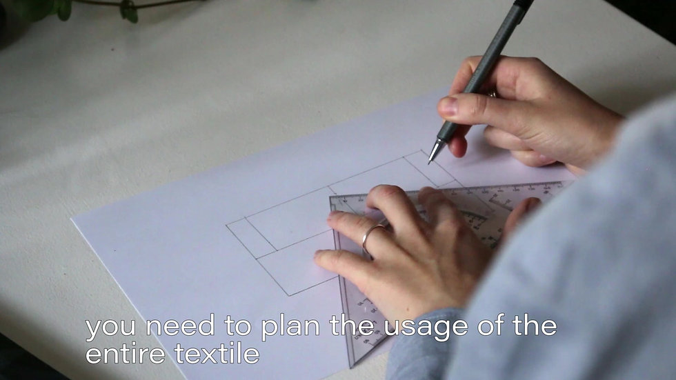 Designing a Zero Waste garment